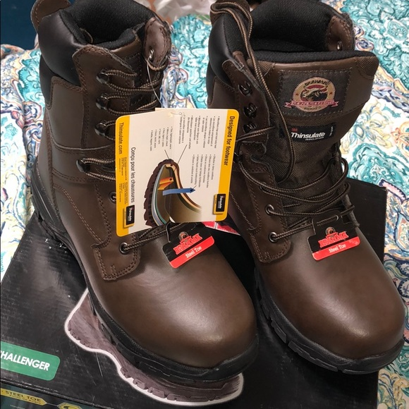 80dacf62946 Brahma Challenger Steel Toe (NEW NEVER WORN) NWT